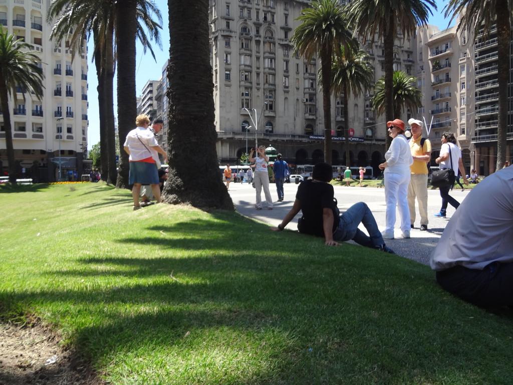Stadtzentrum Montevideo Plaza de Indepedencia