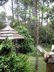 Hütte im Wald in Uruguay