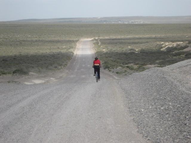 Wüste in Patagonien