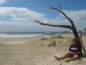 Abhängen Cabo Polonio Uruguay