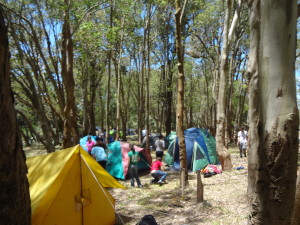 Camping Südamerika