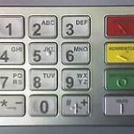 Tastatur Geldautomat