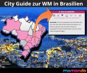 WM Cityguide in Brasilien – Highlights der Fussball Weltmeisterschaft 2014