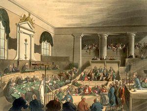Gerichtsverfahren England