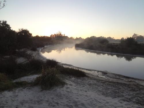 Tropa vieja Uruguay morgens um 6 Uhr