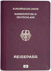 Biometrischer Reisepass