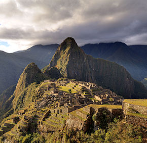 """80 - Machu Picchu - Juin 2009 - edit.2"" by Martin St-Amant (S23678) - Own work. Licensed under CC BY-SA 3.0 via Commons - https://commons.wikimedia.org/wiki/File:80_-_Machu_Picchu_-_Juin_2009_-_edit.2.jpg#/media/File:80_-_Machu_Picchu_-_Juin_2009_-_edit.2.jpg"