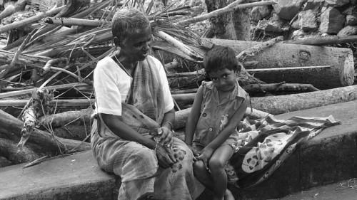wie so, oft die Ärmsten der Armen