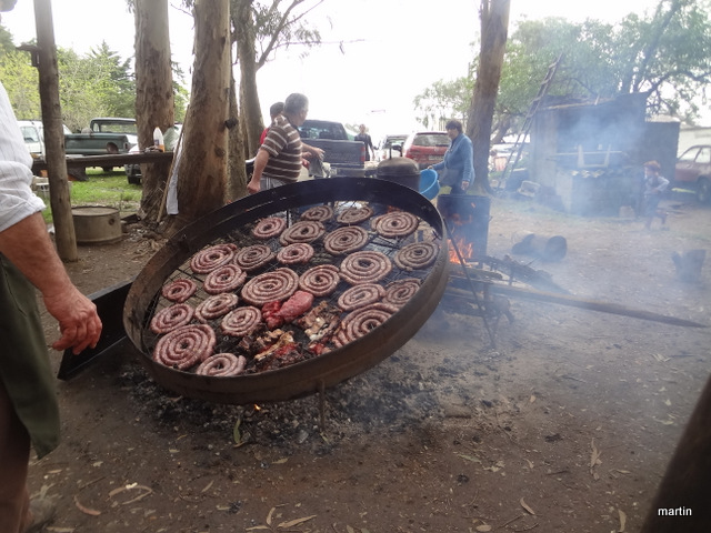Rindfleisch Asado wie die Gauchos