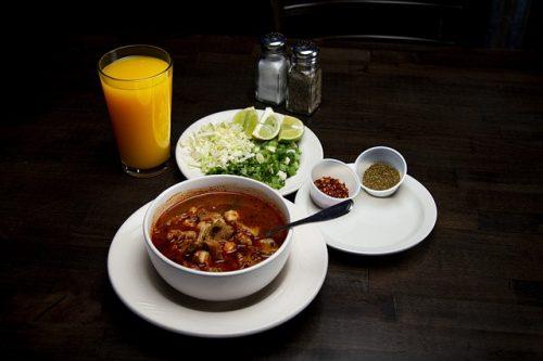 Mexiko Frühstück